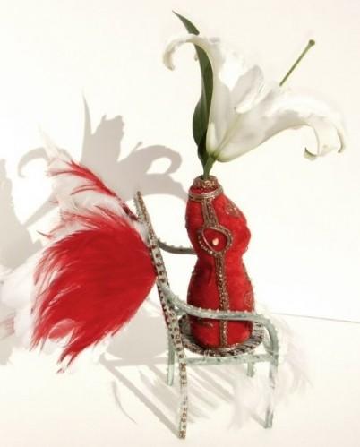 Funky Flower Vase by ArtSnark